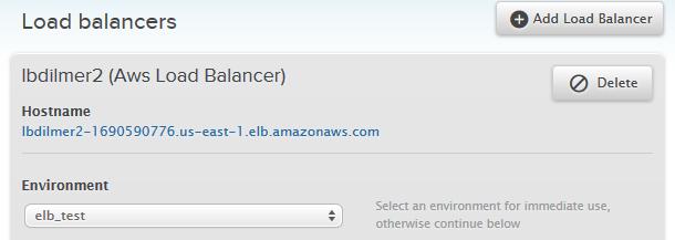 Using Amazon Elastic Load Balancers – Engine Yard Developer Center